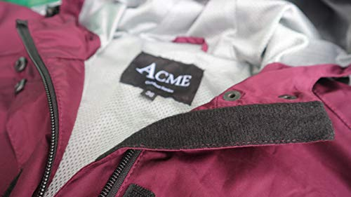 41TQ2fH4gcL - Acme Projects Rain Suit (Jacket + Pants), 100% Waterproof, Breathable, Taped Seam, 10000mm/3000gm, YKK Zipper