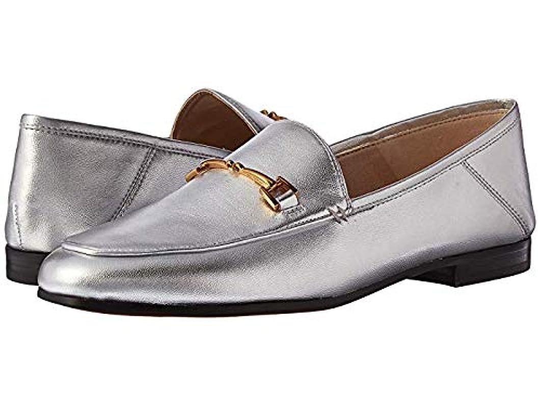 ぼろオセアニア哀[Sam Edelman(サムエデルマン)] レディースローファー?靴 Loraine Loafer Silver Soft Metallic Sheep Leather (25.5cm) M [並行輸入品]