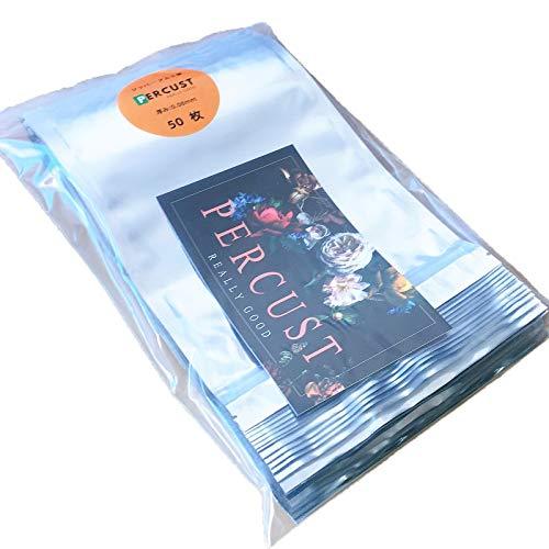 50枚入 透明 アルミ箔 アルミ袋 チャック付き ジップロック シール 保存袋 長期保存 保存用バッグ ジッパー付きビニール袋 防水 防湿防カビ 収納袋 (18x25cm)