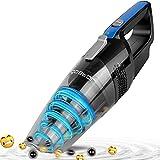 Aigostar Mercury 33LBY - Aspirateur cyclonique à main sans fil. Aspiration sec et humide. Réservoir 500ml,7.2V,filtre HEPA....
