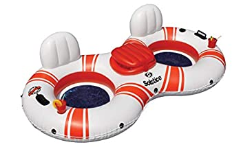 Solstice Super Chill River Tube Double Duo With Cooler Inflatable Raft Multicolor One Size