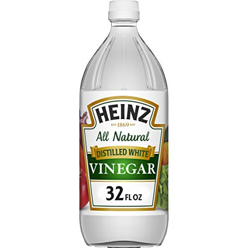 美国进口 亨氏(HEINZ)白醋 酿造食醋 946ml/瓶 946ml/bottle of vinegar brewed from HEINZ white vinegar imported from USA