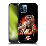 Head Case Designs Ufficiale Jurassic World T-Rex VS. Velociraptors Arte Chiave Cover in Morbido Gel Compatibile con Apple iPhone 12 / iPhone 12 PRO