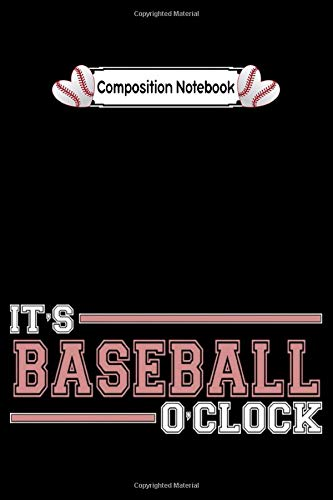 Composition notebook: humorous cool baseball retro comic love funny cute CollegeRuled 6x9 100 pages bleed
