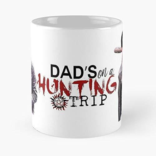 Winchester The Ackles Walking Dead Morgan Jensen SPN Jeffrey Negan Dean TWD Best Taza de café de cerámica de 11 onzas