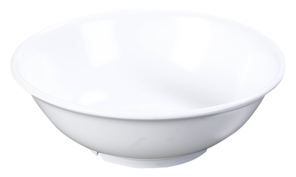 Carlisle 4373802 Melamine Challenge the lowest price Baltimore Mall of Japan Footed Serving White Bowl oz 36
