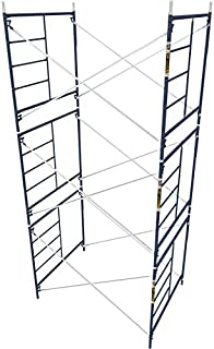 Metaltech Safetstack 5ft. x 5ft. x 7ft. Mason Frame — Set of 3, Model# M-MFS606084AK3
