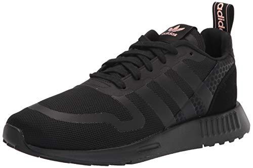 adidas Originals Women's Smooth Runner Sneaker, Black/Black/Black, 9.5