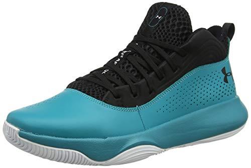 Under Armour UA Lockdown 4, Zapatos de Baloncesto para Hombre, Negro (Black 003), 40 EU