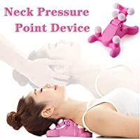 Mwellewm Cervical Spine Alignment Chiropractic Pillow