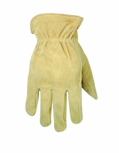 CLC Custom Leathercraft 2055L Split Cowhide Work Gloves, Large