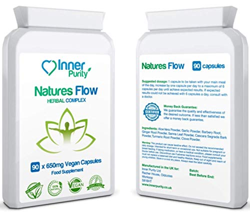 High Strength - Constipation Relief Tablets for Long-Term Constipation - 100% Natural Ingredients - Long Term Laxative Tablets