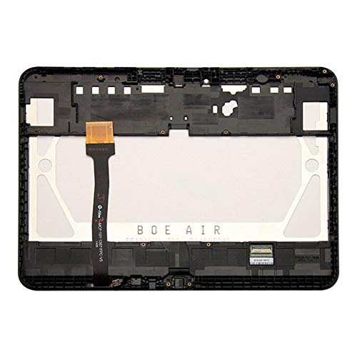 Screen replacement kit Fit For Samsung Galaxy Tab 4 10.1 T530 T531 T535 SM-T530 LCD Display Touch Screen Digitizer Replacement Repair kit replacement screen (Color : Touch Only Black)