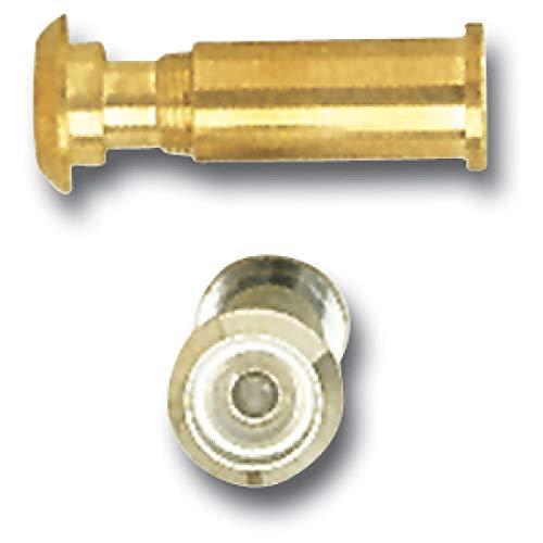 Grund Muñeco Puerta gucker Diámetro 14, 170° de la lente, TS 68–85, latón Pol, B de schutztauglich; 1pieza