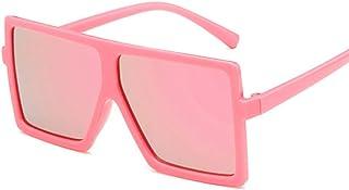 Oversized Square Sunglasses for kids, Flat Top Fashion...