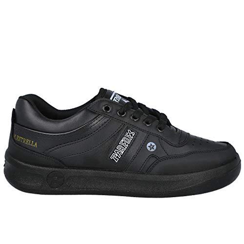 PAREDES Estrella DP100 Zapatillas Deportivas Hombre - Cuero para: Hombre Color: Negro Talla: 43