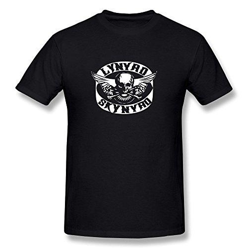 Hsuail Hombres de Lynyrd Skynyrd Banda Logo Camiseta