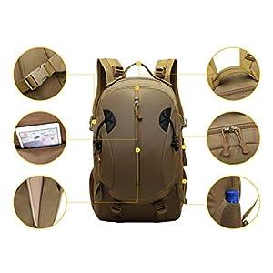 41TQDoxjhBL. SS300  - JOTHIN 40L Deportes y Aire Libre Mochilas de Camping Nylon Mochila Táctica Militar Grandes Trekking Backpack Impermeable…