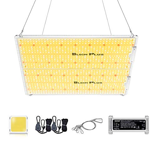 Bloom Plus LED Grow Light BP3000 Use with 1174pcs Samsung Diodes Dimmable Grow Lights 4x4ft Coverage Full Spectrum Newest Sunlike Grow Lamp for Indoor Plants Greenhouse Veg and Flower
