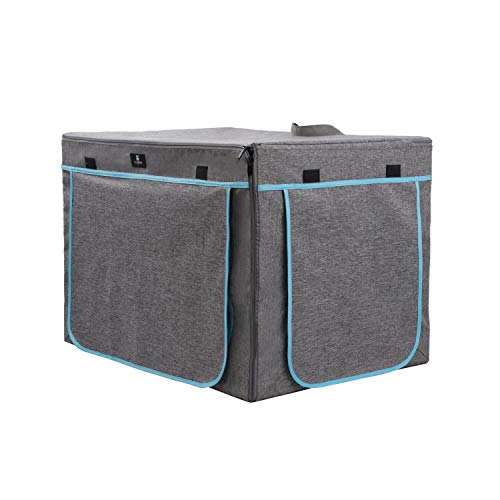 Diggs Revol Dog Crate (Collapsible Dog Crate, Portable Dog Crate, Travel Dog Crate, Dog Kennel) for Medium Dogs and Puppies