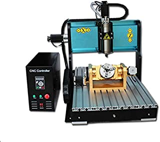 JFT 6040 (60×40cm) cnc router 5 axis machine with USB port,MACH3 system for Jade\Metal\Jewelry\Three-dimensional woodworking (800w)