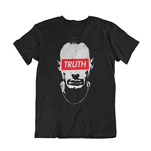 WALLSHIRT T-Shirt Uomo Rapper Truth - Nero - S