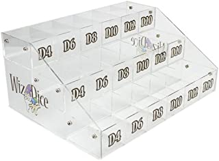Wiz Dice Retail Point of Sale Display and Dice Organizer
