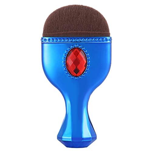 Harmonious Pinceau de maquillage visage visage complet pinceau fond de teint Brush blush pinceau coussin d'air maquillage pinceau éponge brosse portable (1 bleu clair)