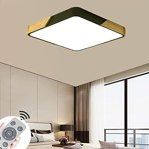 MIWOOHO 60W Luz de techo Regulable LED Lámpara de Techo Sala de estar Dormitorio Luces de techo Cocina Comedor con control remoto