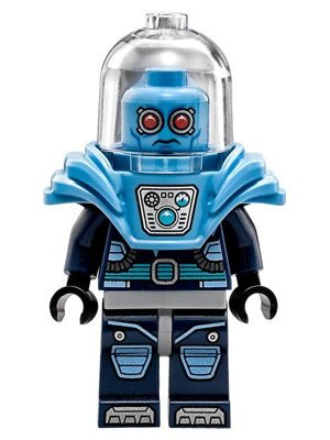 The LEGO Batman Movie Lego Super Heroes Minifigur Mr. Freeze (aus dem Set 70901)
