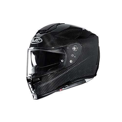Motorradhelm HJC RPHA 70 CARBON BLACK, Schwarz, M