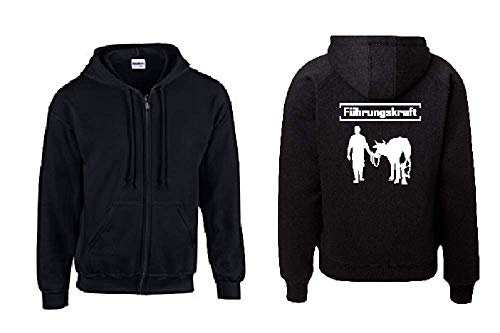 Textilhandel Hering Jacke - Führungskraft Kuh (Schwarz, 3XL)
