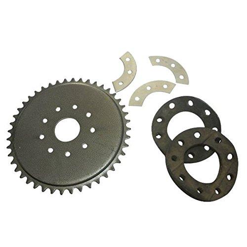 Générique 9-Trous 44 Dents Sprocket Pignon à chaîne Set 50cc 80cc Pièces de Moteur mécanique vélo motorisé