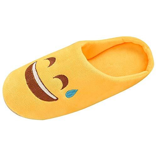 OHQ Zapatillas De Casa Algodon Mujer Hombre Calzado