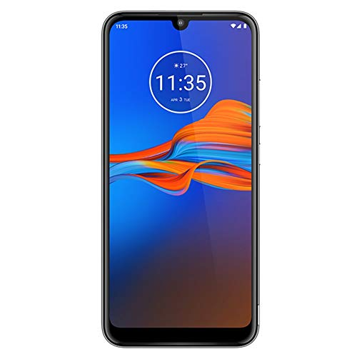 Motorola Moto E6 Plus (32GB, 2GB RAM) 6.1' Max Vision Screen, 3000mAh Removable Battery, Hotspot, FM Radio, US + Global 4G LTE Dual SIM GSM Factory Unlocked XT2025-1 - International Model (Graphite)