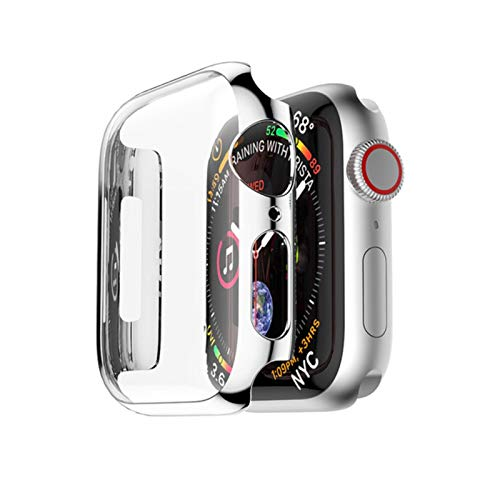 PC Case Cover for Apple Watch 4 3 band Screen Protective band 42mm 44mm 38mm 40mm Shatter-Resistant Frame Protector Cover 44