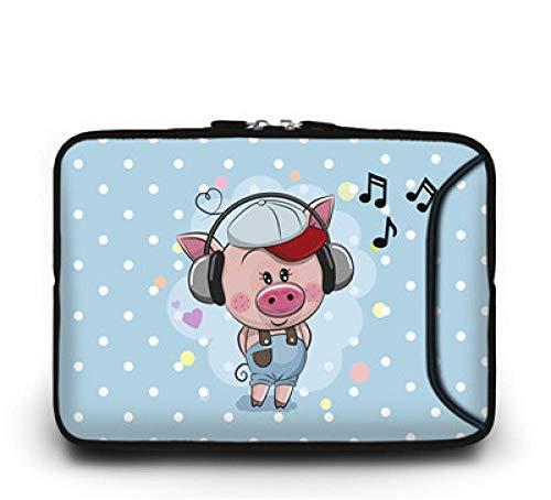 Yinghao Laptop-Tasche 10 10 1 11 6 12 13 13 3 14 14 4 15 15 6 17 17 3-Zoll-Netbook-Hülle Notebook-Hülle Für HP ASUS Acer@Schwein_10 Zoll