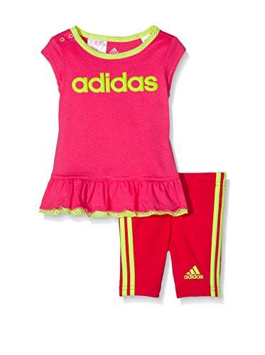 adidas Trainingsoutfit Survetement I J Dress Set pink/rot 9 Monate (74 cm)