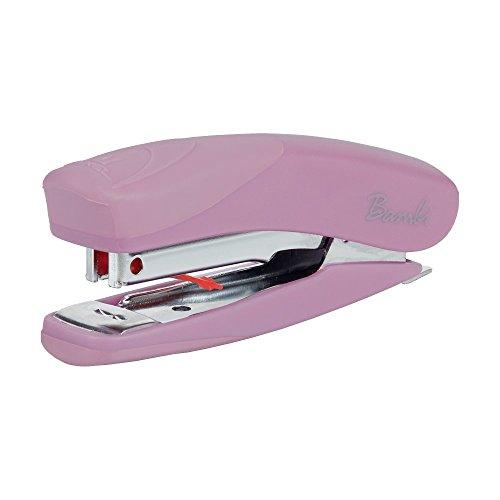 REXEL 2104380 - Grapadora modelo BAMBI + caja de grapas (en blister) color lila