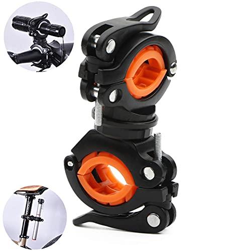 Flashlight Mount Holder,Universal Bicycle Led Light Mounting...