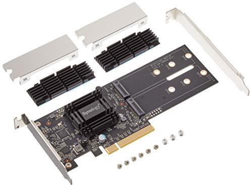Synology M2D18 Carte Et Adaptateur D'Interfaces Interne M.2 - Cartes Et Adaptateurs D'Interfaces (Pcie, M.2, Noir, 0 - 40 °C, -20 - 60 °C, 5 - 95%)