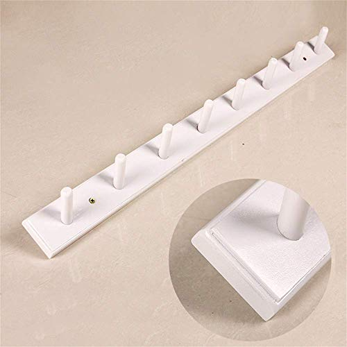 ZHOUMEI Wandplank voor hoedenrek Plank voor multifunctionele kleding (kleur: wit, afmeting: 40cm)