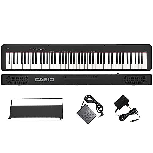 Piano Digital Casio CDPS90 88 Teclas Preto Equivalente CDPS100