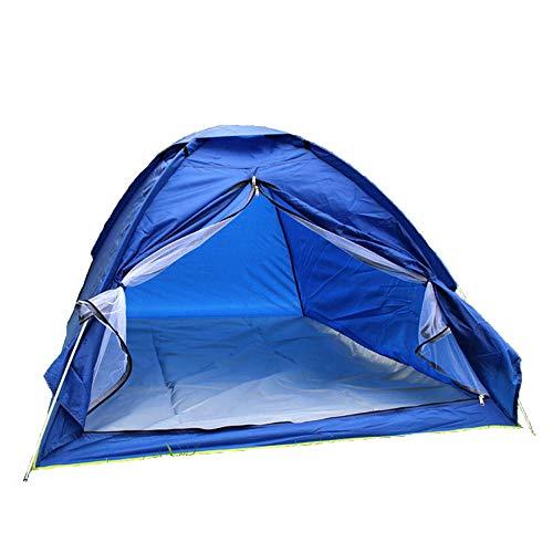 WJQ Camping Tent Outdoor benodigdheden Duurzaam en Comfortabel Ademend Waterdicht Uv-resistente slijtvast Makkelijk schoon te maken Opslag Geschikt voor Familie Camping