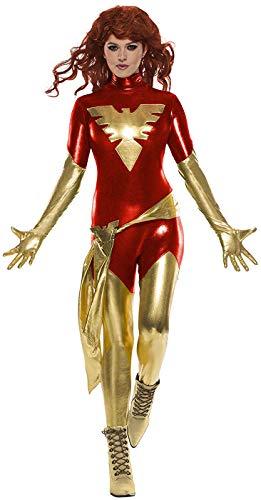 Women's Dark Phoenix Superhero Costume