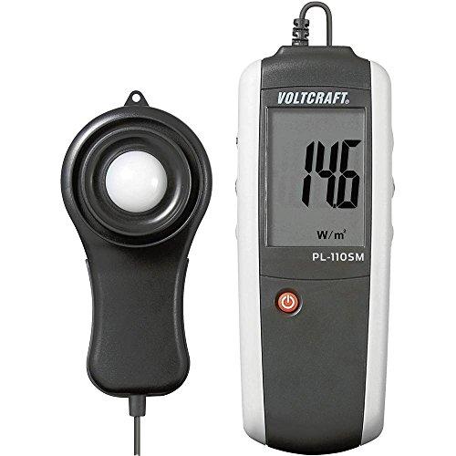 VOLTCRAFT PL-110SM Luxmeter 0-1999 W/m²