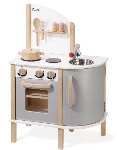 stabile, moderne Spielküche aus Holz von howa 4816