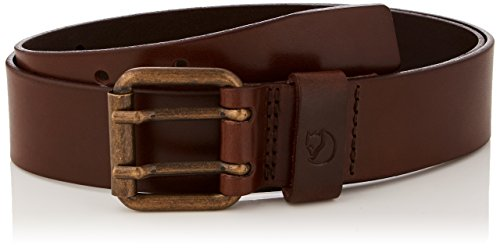 FJÄLLRÄVEN Singi Two-pin Belt Ceinture Mixte Adulte, Leather Brown, FR : S (Taille Fabricant : 75cm)