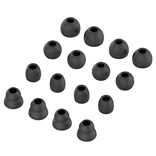 ibasenice Ear Tips for Beats Powerbeats3 Wireless Earphone - 16pcs Replacement Earbud Silicone Tips, Wireless Stereo Headphones Silicone Replacement Ear Tip Cushion