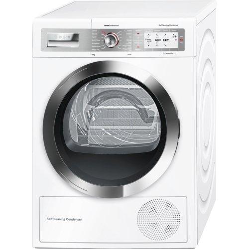 Bosch WTY877H8IT Libera installazione Carica frontale 8kg A+++ Bianco asciugatrice
